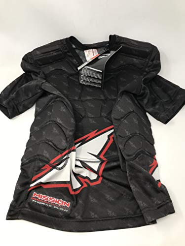 Mission New Thorax Flow Hockey Padded Shirt JR S Black/Red