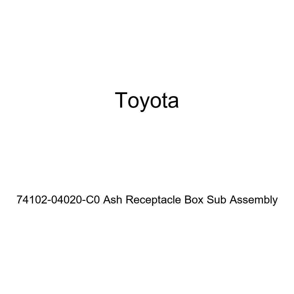 TOYOTA 74102-04020-C0 Ash Receptacle Box Sub Assembly