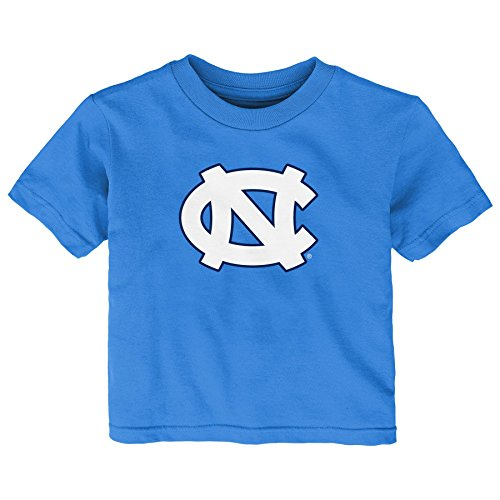 (Gen 2 NCAA North Carolina Tar Heels Infant Primary Logo Short Sleeve Tee, 12 Months, Light Blue)