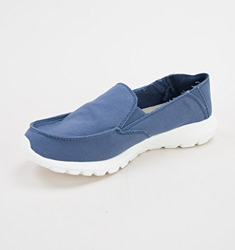 Dude 4 Steel Ava Blue Ladies Shoe pWFqpAZr