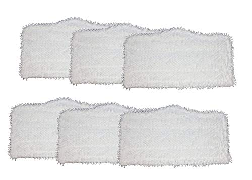 AI-Vacuum Shark Steam and Spray Mop Cleaning Pads 6 pc, for S3101, S3102, S3250, S3251, SK115, SK140, SK141, SK435CO, SK460 (Shark Steam Cleaning Pads)