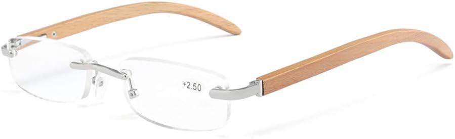 lunettes de soleil femme Lovemorease Lunettes de Lecture en Bois à la Mode pour Hommes et Femmes Lunettes de Lecture en Bois élégantes à Haute