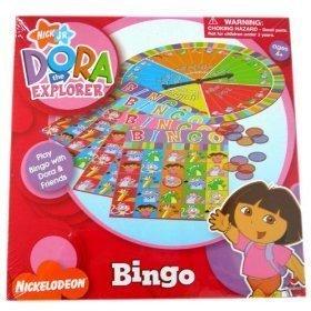 DORA THE EXPLORER BINGO by NICK JR (Dora The Explorer Bingo)