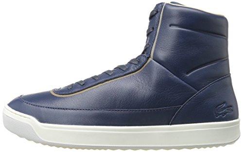 Lacoste Women's Explorateur Calf 316 1 Caw Nvy Fashion Sneaker, Navy, 6.5 M US