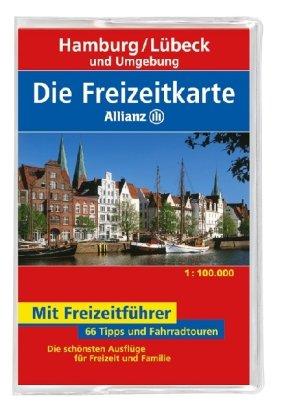 Die Allianz Freizeitkarte Hamburg, Lübeck und Umgebung 1:100 000