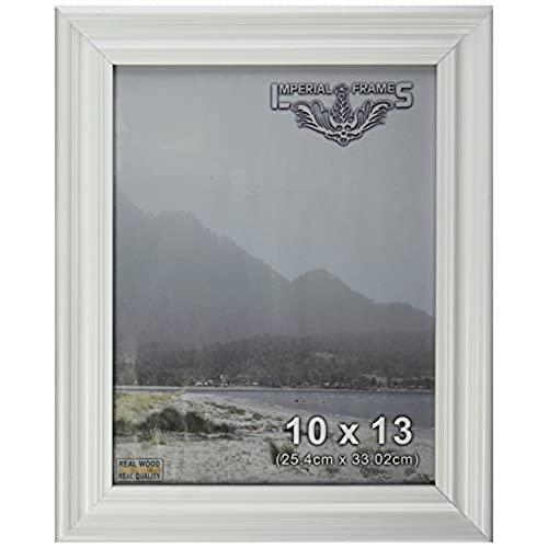Imperial frames 16 by 20 inch 20 by 16 inch picture photo frame white wood fancy profile