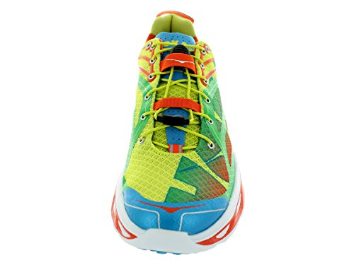 Sneaker Hoka One One Mens Huaka Running Arancione / Verde / Giallo