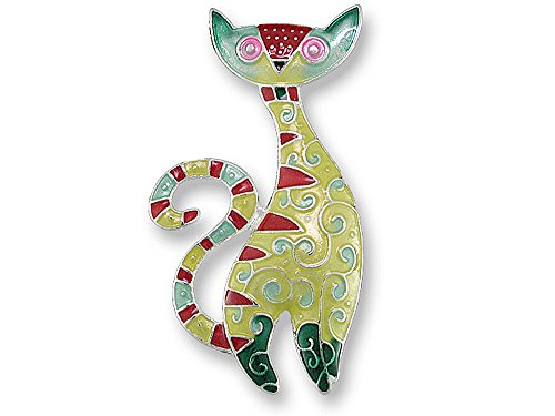 Cat Radiance Enamel Pin - Kitty Cloisonne