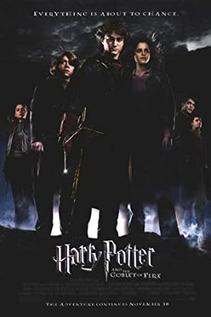Harry Potter And The Goblet Of Fire Authentic Original 27 X 40