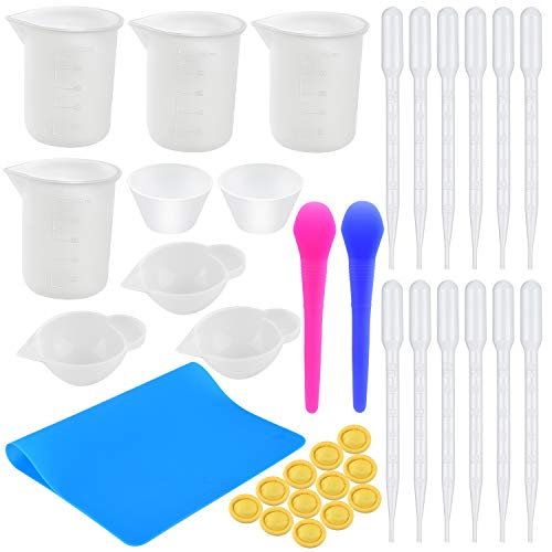 Coopay Silicone Mixing Cups