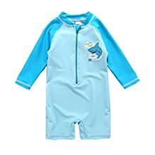 Vivafun Baby Boy Rash Guard Swimsuit UPF 40+ Sun Protective Sunsuit
