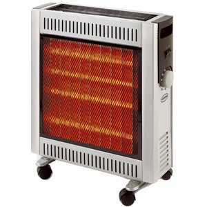 Supra INFRA2410 - Estufa de infrarrojos halógena (2400 W, calor radiante, tubo de
