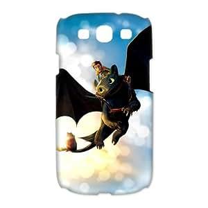 Custombox Train Your Dragon Samsung Galaxy S3 I9300 Case Hard Case Plastic Hard Phone Case-Samsung Galaxy S3-DF00405