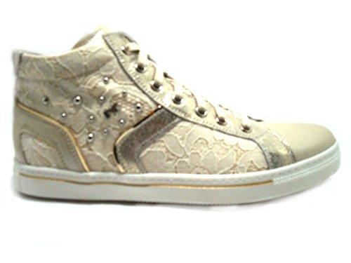 Nero Giardini  Sneaker Ragazza Art P631263f, Mädchen Sneaker Yvory CHAMPAGNE