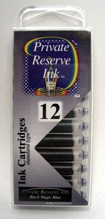 Private Reserve Black Magic Blue Ink Cartridges