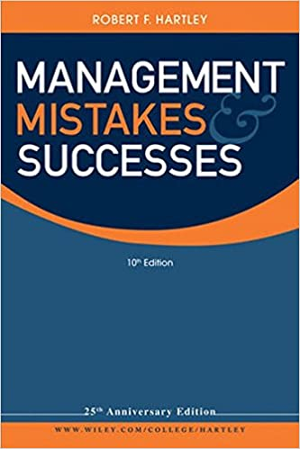 Livre en ligne pdf download Management Mistakes and Successes 0470530529 PDF iBook