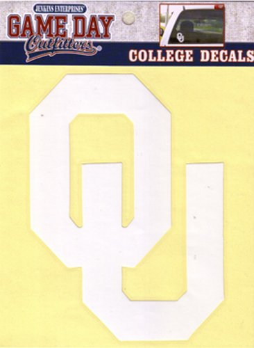 NCAA Oklahoma Sooners Window Decal/Stickers by Game Day Outfitters