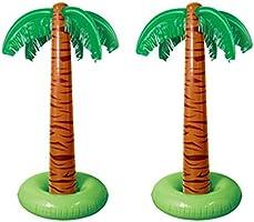 siwetg - Piscina Hinchable de 90 cm con Palmeras Tropicales para ...
