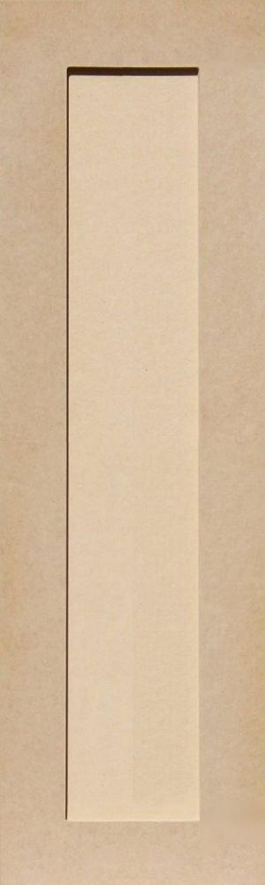 Unfinished Shaker Cabinet Doors in MDF by Kendor, 30H x 9W Kendor Wood Inc.