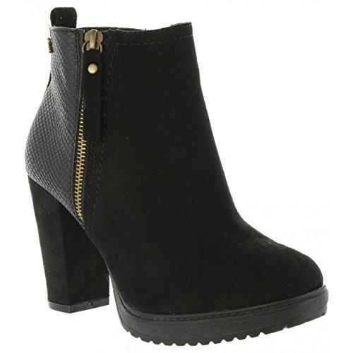 Refresh Stiefel für Damen 63704 C Negro