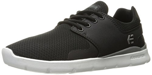 Etnies Womens Scout Xt Ws Skateboarding Shoe  Black White Grey  6 M Us