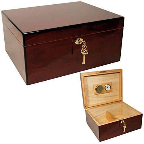 Cuban Crafters Rosewood Amor425 Cigar Humidor 50 Count 50 Count Cigar Humidor