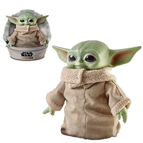 Star Wars El mandaloriano; The Child Baby Yoda 11 Figura de acción de peluche de juguete con accesorios (3+)