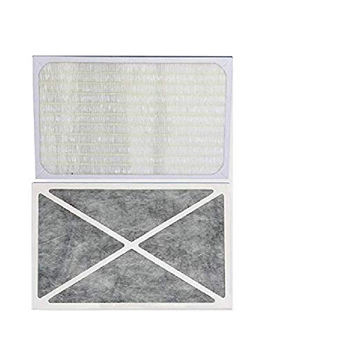 3000f Replacement - Sunpentown 1220F Magic Clean Replacement HEPA Filter with Activated Carbon for AC-1220