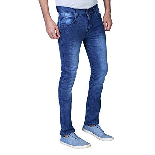DRRAGON Slim Men Blue Jeans