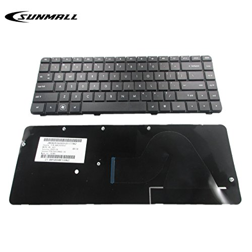 New Laptop Keyboard Replacement for HP Compaq HP Pavilion Presario CQ42 CQ42-100 CQ42-200 G42 G42-300 G42T-200 G42-230US G42-240US G42-410US G42-232NR G42-224CA Black US Layout (6 Months Warranty)