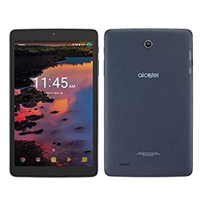 Image of Alcatel A30 16 GB Android 7.1 Nougat, 8' Inch Tablet 4G LTE GSM Unlocked WIFI (Navy Blue) Tablets