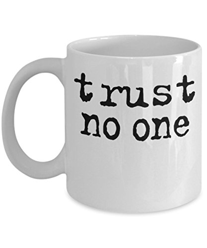 Trust No One By: Trinkets & Novelty This 11-oz The Twilight Zone Merchandise Inspired By The Complete 80s Series The Best The Twilight Zone Coffee Mug Perfect Gift For Any Fan of Forest Whitaker