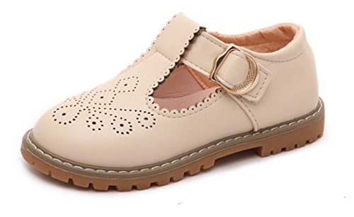 Kids T-bar Shoes Mary Jane Leather School Shoes Dress for sale  Delivered anywhere in USA