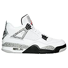 "Air Jordan AJ Nike 840606-192: Air Jordan Retro 4 IV OG ""89"" White/Cement Basketball Men Size (US Men 10)"