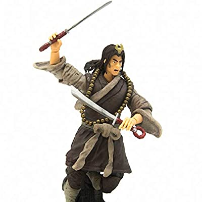 3.75-inch Action Figure The Water Margin PVC Model Toys Collectible Figures for Birthday (Wu Song): Toys & Games