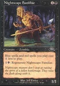 Magic: the Gathering - Nightscape Familiar - Planeshift ()