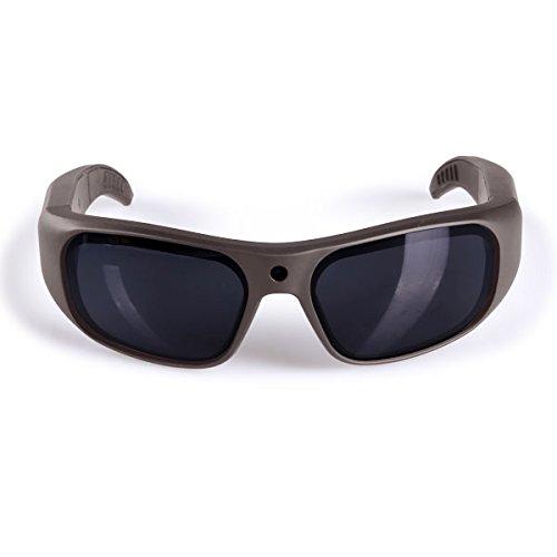 GoVision Apollo 1080p HD Camera Glasses Water Resistant Video Recording Sport Sunglasses - Warm - Hd Sunglasses Camera