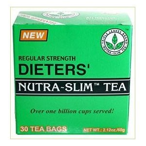 THREE BOXES of 30 tea bags Regular Strength Dieters' Nutr...