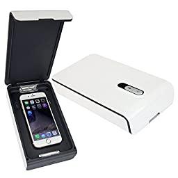 Cell Phone UV Sterilizer - UV Sanitizer Kills Germs Watch Jewelry Toothbrush Cleaner