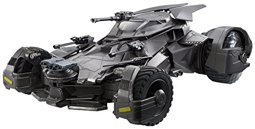 DC Comics Multiverse Justice League Batmobile Vehicle, 6""