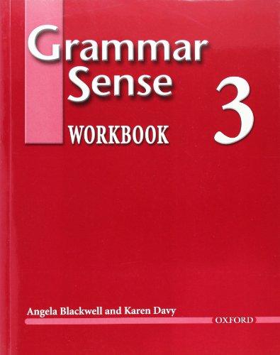 Grammar Sense 3 Workbook