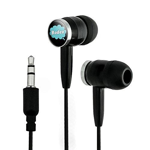 Dreaming of Rodeo Blue Novelty In-Ear Earbud Headp...