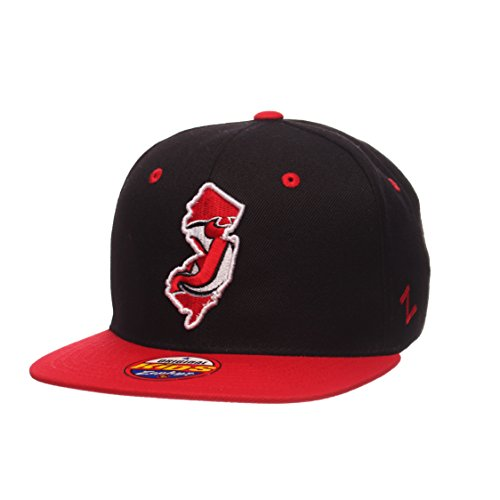 - Youth New Jersey Devils Statement Adjustable Snapback Cap - NHL Zephyr Kid's Flat Bill Baseball Hat