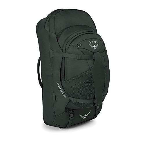 Osprey Packs Farpoint 55 Travel Backpack, Volcanic Grey, Small/Medium from Osprey