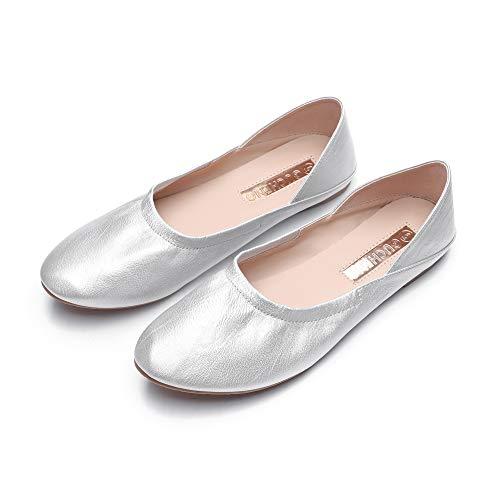 GUCHENG Flats Comfortable Shoes Women's - Ballet Slip On Girl Slippers - Ladies Casual - Flats Ballet Comfortable