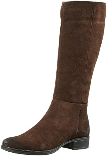 Geox D-Mendi Stivali Q, Botas de Montar para Mujer Braun (COFFEEC6009)