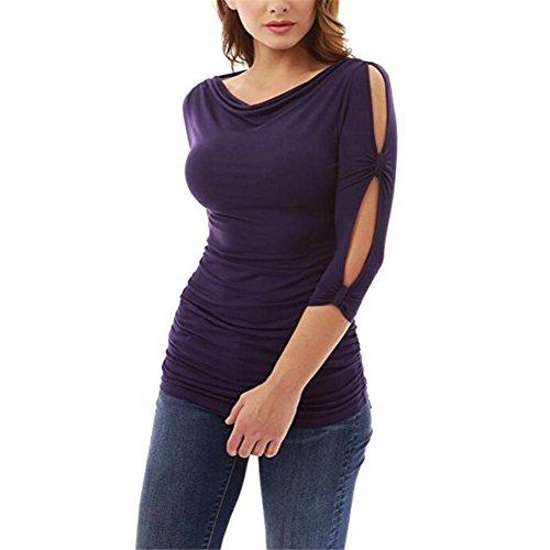 shirt La Tasca Porpora 7 Collo Xmy collo Girevole T wnFPYqfO0