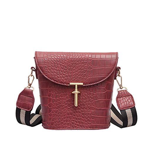 Sales!Women Tote Bags Top Handle Satchel Handbags Shoulder Purse-Multi-Pocket Cotton Canvas Handbags Shoulder Bags Totes Purses-Crocodile Pattern Embossed Bucket Bag Shoulder Bag Messenger Bag ()