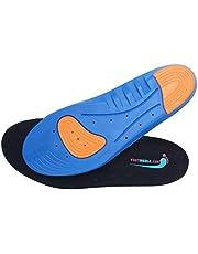 Memory Foam Shoe Inserts - Breathable Sport Shoe Insoles - Men (8.5-12), Women (9.5-13)