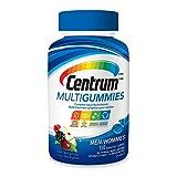 Centrum Men Multigummies (130 Count, Natural Cherry, Berry, Apple Flavor) Multivitamin Gummies